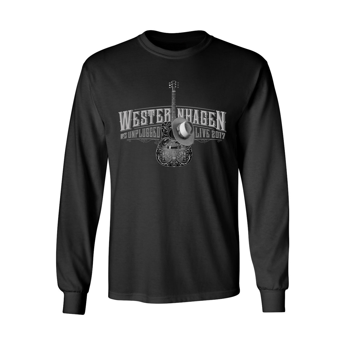 Westernhagen Guitar Longsleeve Longsleeve schwarz