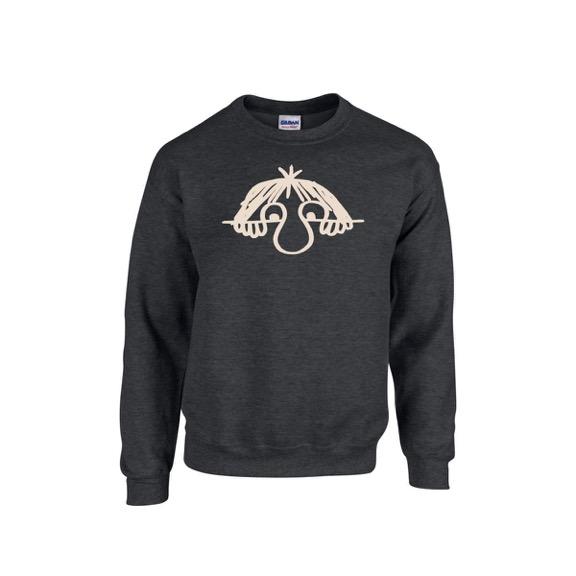 Westernhagen Stinker Sweater Sweater, dunkelgrau meliert
